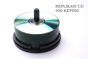 replikasi cd 500 keping